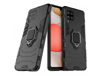 Husa TPU OEM Defender Armor pentru Samsung Galaxy A42 5G, Neagra, Bulk