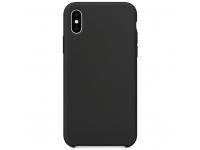 Husa TPU OEM Pure Silicone pentru Motorola Moto G9 Play / Motorola Moto E7 Plus, Neagra, Bulk