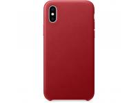 Husa Piele OEM Eco Leather pentru Apple iPhone 7 Plus / Apple iPhone 8 Plus, Rosie, Blister