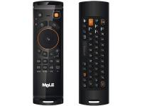 Tastatura wireless OEM Mele F10 Deluxe, 2.4GHz, Qwerty, Senzor IR, Neagra