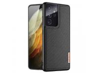 Husa Plastic - TPU DUX DUCIS Fino pentru Samsung Galaxy S21 Ultra 5G, Neagra