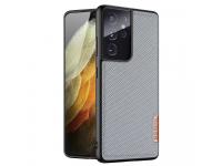 Husa Plastic - TPU DUX DUCIS Fino pentru Samsung Galaxy S21 Ultra 5G, Albastra