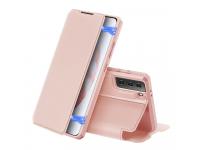Husa Poliuretan DUX DUCIS Skin X pentru Samsung Galaxy S21 5G, Roz