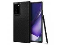Husa TPU Spigen LIQUID AIR pentru Samsung Galaxy Note 20 Ultra N985, Neagra ACS01392