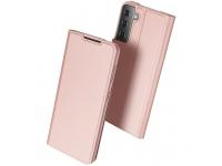 Husa Poliuretan DUX DUCIS Skin Pro pentru Samsung Galaxy S21 5G, Roz