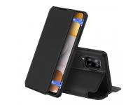 Husa Poliuretan DUX DUCIS Skin X pentru Samsung Galaxy A42 5G, Neagra, Blister