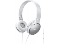 Handsfree Casti On-Ear Panasonic RP-HF300ME-W, Cu microfon, 3.5 mm, cu banda, Alb PNS00062