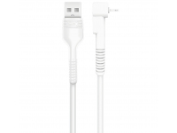Cablu Date si Incarcare USB la USB Type-C XO Design NB100, 1 m, 2.1A, Alb