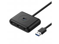 Hub USB UGREEN, 3.2, 4 x USB, Neagra, Blister