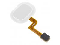 Senzor Amprenta Samsung Galaxy A21s, Cu banda, Alb, Swap