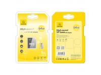 Card Memorie MicroSDHC Usams US-ZB119, 64Gb, Clasa 10 / UHS-1 U1, cu Adaptor ZB119TF01
