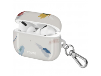 Husa Protectie Casti UNIQ COEHL REVERIE pentru Apple AirPods Pro, Soft Ivory, Crem