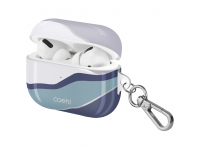 Husa Protectie Casti UNIQ COEHL CIEL pentru Apple AirPods Pro, TWILIGHT BLUE, Albastra