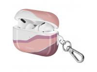 Husa Protectie Casti UNIQ COEHL CIEL pentru Apple AirPods Pro, SUNSET PINK, Roz