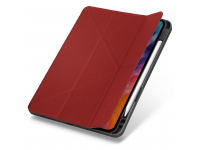 Husa Tableta TPU UNIQ Transforma Rigor New pentru Apple iPad Air (2020), Antimicrobial, CORAL, Rosie