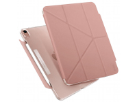 Husa Tableta TPU UNIQ CAMDEN NEW pentru Apple iPad Air (2020), Antimicrobial, PEONY, Roz