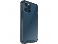 Husa Plastic - TPU UNIQ Combat Antisoc pentru Apple iPhone 12 Pro Max, NAUTICAL BLUE, Bleumarin