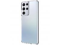 Husa TPU UNIQ LifePro Xtreme pentru Samsung Galaxy S21 Ultra 5G, AntiSoc, Transparenta