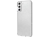 Husa Plastic - TPU UNIQ LifePro Tinsel pentru Samsung Galaxy S21 5G, Glitter, Transparenta