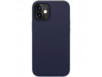 Husa TPU Nillkin Flex Pure Pro Magnetic pentru Apple iPhone 12 mini, Bleumarin