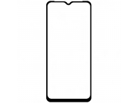 Folie Protectie Ecran OEM pentru Motorola Moto G9 Play, 5D, 9H, Sticla securizata, Full Face, Full Glue, Neagra