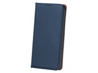 Husa Piele OEM Smart Pro pentru Samsung Galaxy A02s A025, Bleumarin
