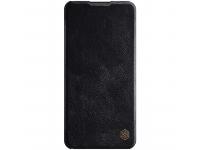 Husa Piele Nillkin Qin Book pentru Samsung Galaxy A21, Neagra