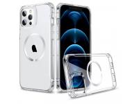 Husa TPU ESR CH HALOLOCK MAGSAFE pentru Apple iPhone 12 / Apple iPhone 12 Pro, Transparenta