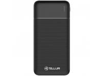 Baterie Externa Powerbank Tellur PBC202, 20000 mA, Standard Charge (5V), Neagra TLL158261