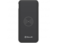 Baterie Externa Powerbank Tellur PDW102, 10000 mA, Power Delivery (PD) - Quick Charge 3 - Fast Wireless, 18W, Neagra TLL158281