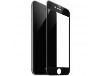 Folie Protectie Ecran HOCO Flash pentru Apple iPhone 7 Plus / Apple iPhone 8 Plus, HD G1, Sticla securizata, Full Face, Full Glue, Neagra