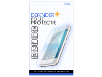 Folie Protectie Ecran Defender+ pentru Huawei P smart 2021, Sticla Flexibila, Full Face