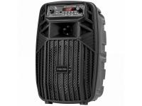 Boxa Bluetooth Kruger&Matz Music Box Mini, 10W, TWS, Iluminare Led, Neagra