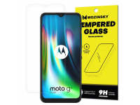 Folie Protectie Ecran OEM pentru Motorola Moto G9 Play / Motorola Moto E7 Plus, Sticla securizata, Full Glue