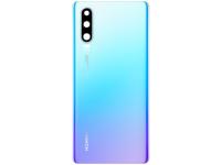 Capac Baterie - Geam Camera Spate Huawei P30, Bleu (Breathing Crystal), Second Hand
