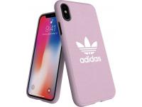 Husa TPU Adidas Moulded CANVAS pentru Apple iPhone X / Apple iPhone XS, Roz
