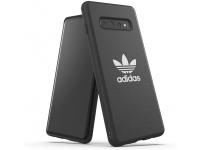 Husa TPU Adidas Moulded CANVAS New Basic pentru Samsung Galaxy S10+ G975, Neagra
