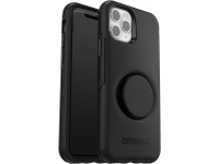 Husa Plastic - TPU OtterBox Symmetry POP pentru Apple iPhone 11 Pro, Neagra