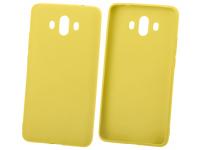 Husa TPU OEM Candy pentru Samsung Galaxy S21 Ultra 5G, Galbena