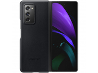 Husa Telefon Samsung Galaxy Z Fold2 5G F916, Leather Cover, Neagra, Resigilata EF-VF916LB