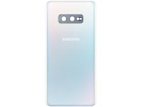 Capac Baterie - Geam Camera Spate Samsung Galaxy S10e G970, Alb, Second Hand