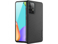 Husa TPU Nevox pentru Samsung Galaxy A52, StyleShell NYLO, Neagra