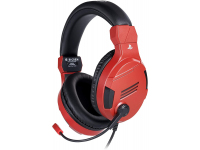 Casti Gaming BigBen SETV3 PS4, cu microfon, 3.5 mm, Rosii NAC0005