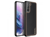 Husa TPU - Piele DUX DUCIS Yolo pentru Samsung Galaxy S21+ 5G, Neagra