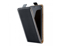 Husa Piele OEM pentru Samsung Galaxy A02s A025F, Flip Slim Flexi Fresh, Neagra