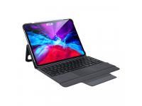 Husa Tableta Piele DUX DUCIS pentru Apple iPad Pro 12.9 (2020), cu Tastatura Bluetooth, Neagra