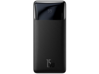 Baterie Externa Powerbank Baseus BIPOW, 10000 mA, Power Delivery (PD) - Quick Charge 3.0, 18W, Neagra