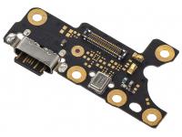 Conector Incarcare / Date - Microfon OEM pentru Nokia 7 Plus, Service