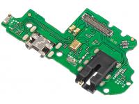 Conector Audio - Conector Incarcare / Date - Microfon OEM pentru Huawei P Smart (2019), Service