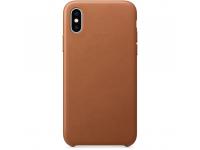 Husa Piele OEM pentru Apple iPhone 7 Plus / Apple iPhone 8 Plus, Maro